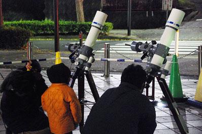 天体観測会画像