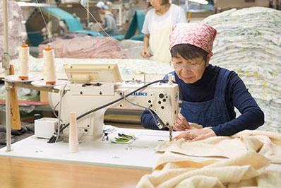 織り仕上げの行程