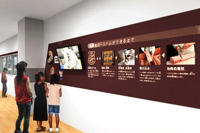鎌倉ハム富岡商会の歴史や製造工程を見学