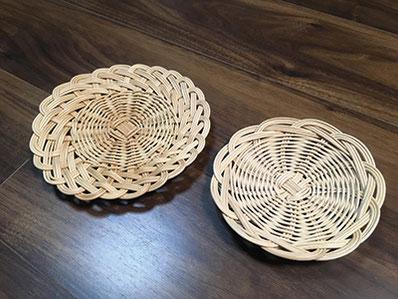3月7日(火)は籐編みの基本となるお皿を制作。