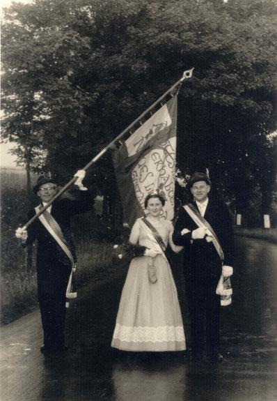 60-jähriges Jubelkönigspaar: Fritz und Trude Schäfers