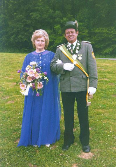 40-jähriges Jubelkönigspaar: Franz-Josef und Inge Bönig