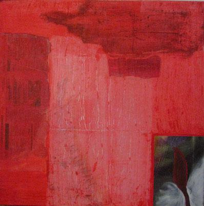 Nr. 2007-HO-009, 80 x 80 cm, Acryl auf Leinwand