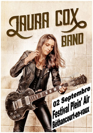 Affiche originale : Laura Cox Band.