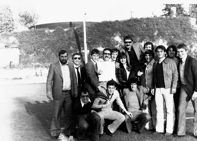 Il gruppo vincitore del Campionato