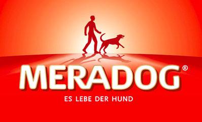 Logo Meradog Hundefutter.
