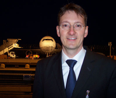 Thilo Schaefer is pushing electronic consignment security declarations further ahead at LH Cargo  source: hs