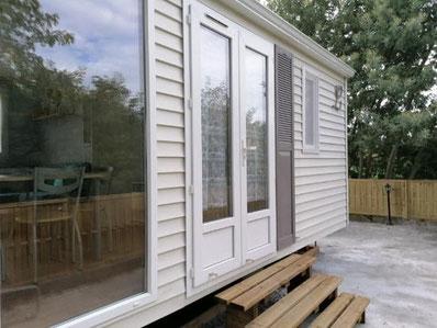 Le logis bleu - Mobil home - Hébergements insolites et chambres d'hôtes à Marcellus - Lot et Garonne