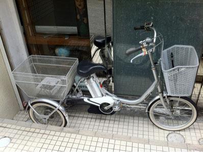 ブリジストン3輪電動自転車