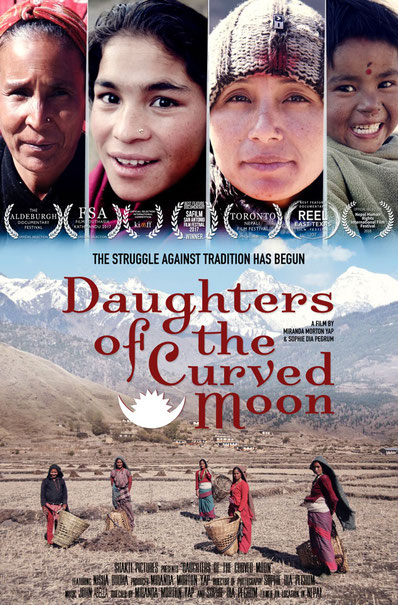 Filmplakat Daughters of the Curved Moon