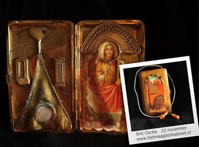 Cecilia, patrones (liturgische) muziek Ellen Brouwers www.hetmaagdenkabinet.nl