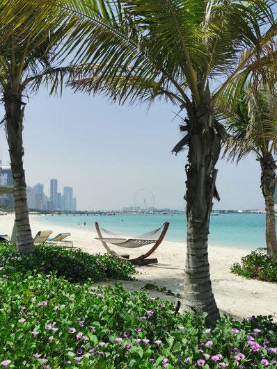 Die Skyline der Marina in Dubai
