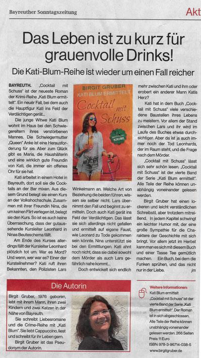 Sonntagszeitung Bayreuth 13.09.2020