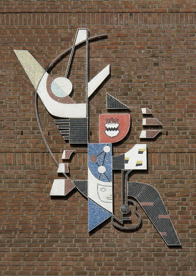 Mosaik, Leverkusen-Opladen, 1962, restauriert 2012