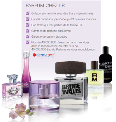 Parfums de Stars avec LR Health & Beauty System