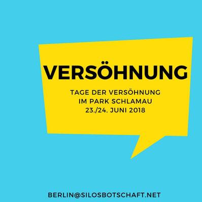 silos Botschaft Spiritualität berlin gewaltfrei park Schlamau