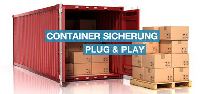 Containersicherung, Containerschutz, Einbruchschutz, Diebstahlschutz, Rauchsystem, Nebelsicherheit, Rauchsicherheit, Schutznebel