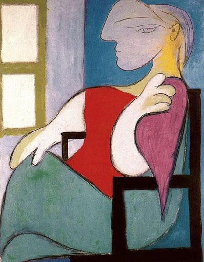 Женщина, сидящая у окна - самые дорогие картины Пикассо