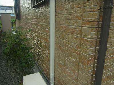 東面塗装完成 熊本Y様邸