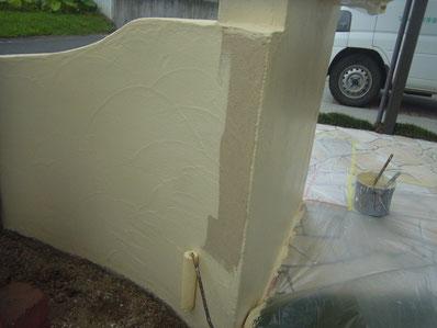 塀塗装 ビュークリーンDX 熊本Y様邸
