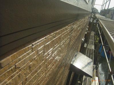 幕板・帯塗装完成 熊本Y様邸