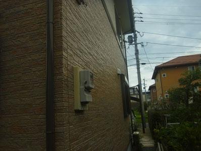 塗装完成 西側熊本Y様邸