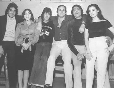 Los Chichos en Zurich 1977 entre amigos
