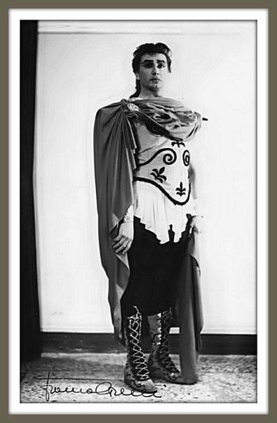 Achille - IFIGENIA IN AULIDE - di C. W. Gluck - (Roma 1954)
