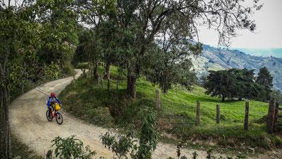 Fahrradtouren Kolumbien Gelände Mountainbike begleitet