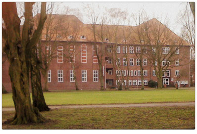 Blick auf unsere Schule und den Haupteingang