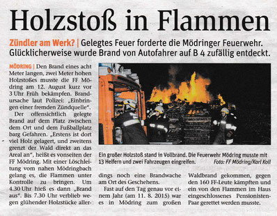 Artikel NÖN Horn/Eggenburg KW 33/2016