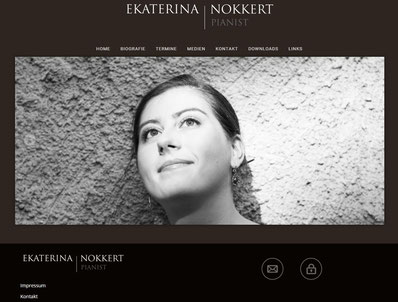 EKATERINA NOKKERT - official website