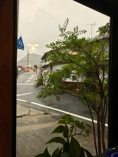 台風21号 隠岐