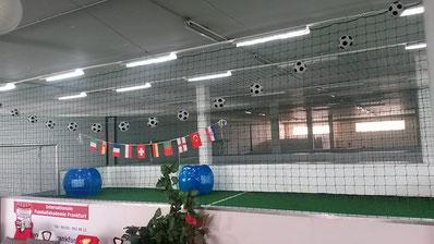 Fußballkindergeburtstag Kindergeburtstag Fußball feiern in Frankfurt Oberursel Hofheim Soccerhalle Fussballgeburtstag Sandra Minnert Fussball