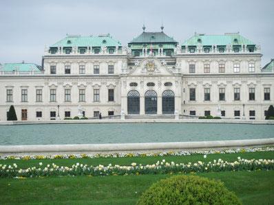ウイーンベルベデーレ宮殿