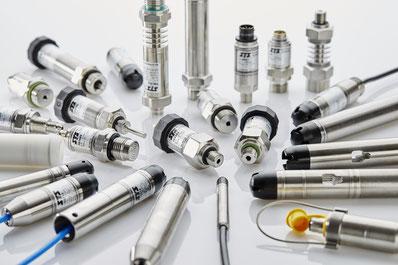 Druckmesszellen und Drucksensoren für jede Branche z.B. Öl, Gas, Prüftechnik, Prüfstandsbau, Medizintechnik, Bahntechnik, Automobil, Anlagenbau, Wassertechnik, Monitoring