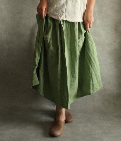 ヂェン先生の日常着 ボリュームスカート