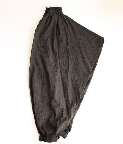 ヂェン先生の日常着 バルーンパンツオリジナル ブラック