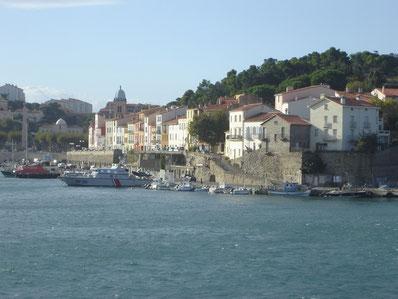 le port (on voit l'obélisque sur la gauche...)