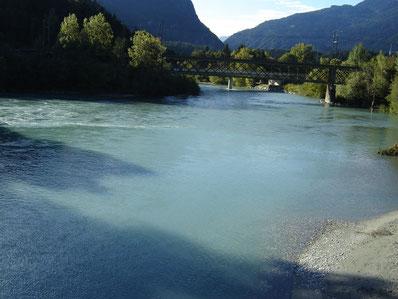 Reichen am Rhein confluent