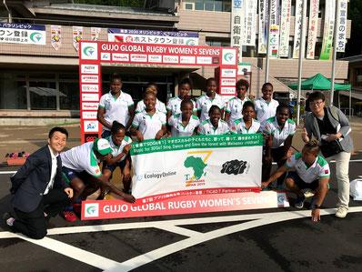 マダガスカル7人制女子ラグビー代表チームも応援!通訳の方を通じて活動内容や進捗をご報告。オリンピックに向けて、頑張れ!マダガスカル代表!