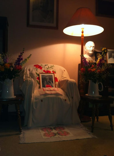 2013 : Baba's chair at Meher House