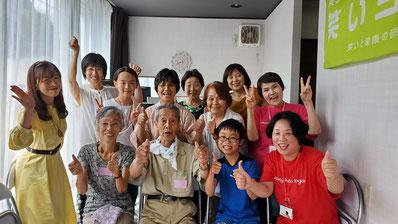 2019年7月24日松阪笑いヨガくらぶ