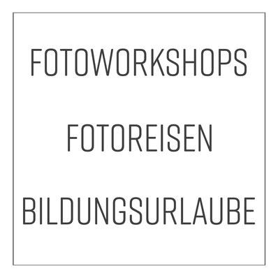 Fotoworkshops, Fotoreisen, Bildungsurlaube mit imagemoove im FOTORAUM Hannover