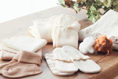 赤ちゃんからデリケートな肌の方でも安心な純オーガニックコットン