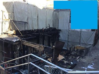 火事現場解体中 横浜市 日系解体工業株式会社