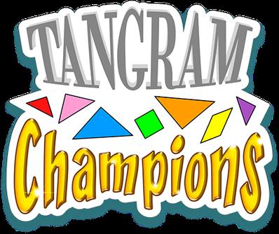 Logo du jeu de société TANGRAM CHAMPIONS - www.tangram-champions.com