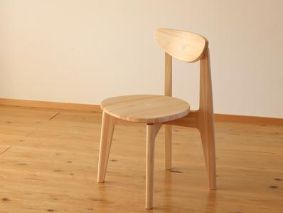 国産材 四万十ヒノキの椅子