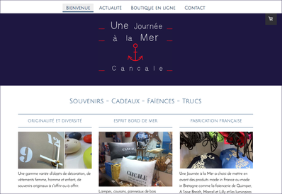Site internet  - Logo&Co Communication Cancale