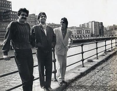 Los Chichos en Bilbao rias de Nervion 1986